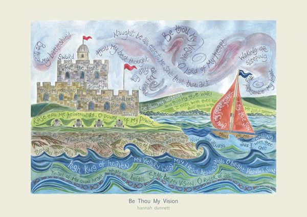 Hannah Dunnett Be Thou My Vision greetings card