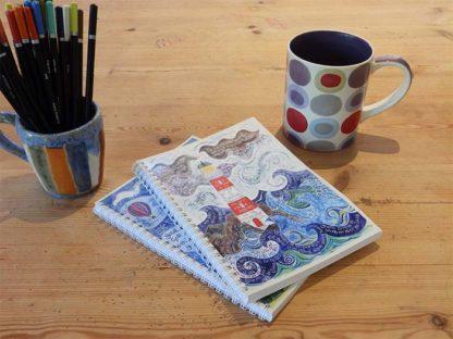 Hannah Dunnett Light of the World notebook closeup image