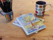 Hannah Dunnett proverbs 3 notebook closeup image