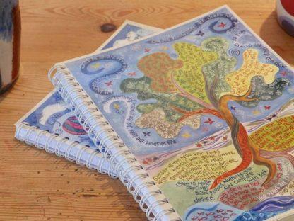 Hannah Dunnett proverbs 3 notebook super closeup image