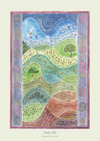 hannah-dunnett-psalm-103-poster
