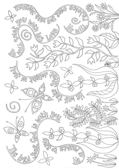 hannah-dunnett-the-lord-your-god-is-with-you-colouring-book-image