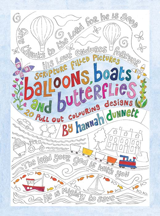 hannah dunnett kids colouring book cover - Kids Colouring Book