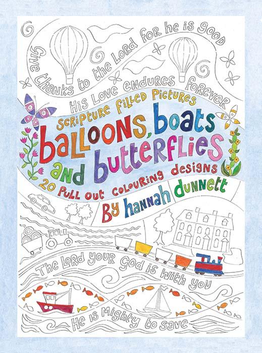 hannah dunnett kids colouring book cover