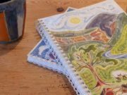 Hannah Dunnett psalm 23 notebook closeup image