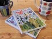 Hannah Dunnett spiral bound notebooks