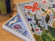 Hannah Dunnett spiral bound notebooks closeup