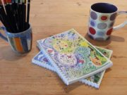 Hannah Dunnett Topsy Turvy Notebook Closeup image