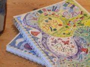 Hannah Dunnett Topsy Turvy Notebook Super Closeup image