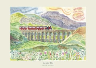 Hannah Dunnett Consider Him greetings card