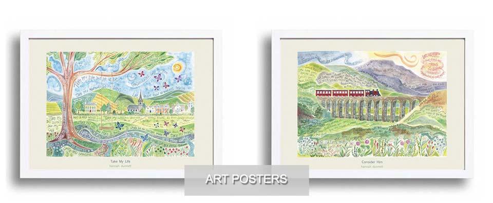 Ben and Hannah Dunnett homepage art posters slider image