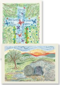 Hannah Dunnett Amazing Grace and Thine Be The Glory Notecards
