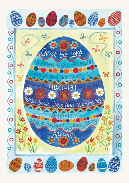 Hannah Dunnett Christ is Risen notecard