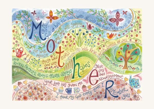 Hannah Dunnett Mothers greetings card