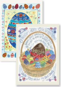 Hannah Dunnett O Happy Day and Christ is Risen Notecards image