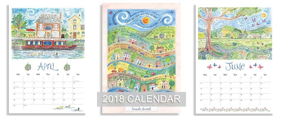 Ben and Hannah Dunnett 2018 calendar homepage slider image