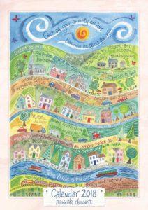 Hannah Dunnett 2018 calendar cover