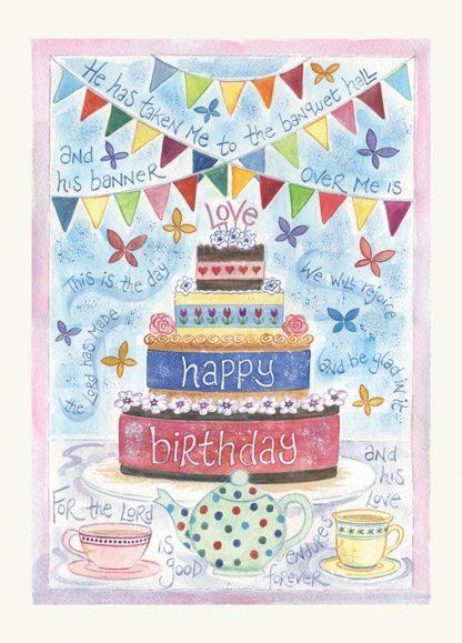 Hannah Dunnett Birthday greetings card