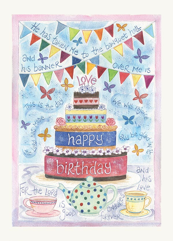 Hannah Dunnett Birthday Greetings Card