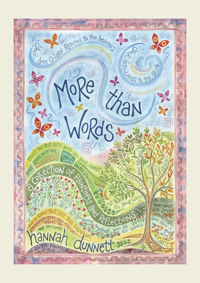 more than words book � ben and hannah dunnett