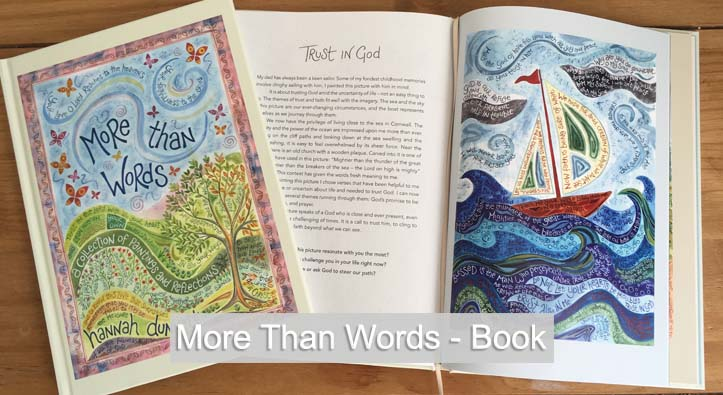 Hannah Dunnett More Than Words book home page slider image