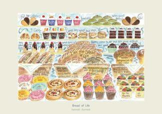 Hannah Dunnett Bread of Life greetings card