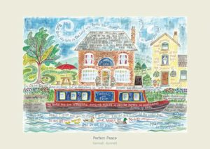 Hannah Dunnett Perfect Peace greetings card