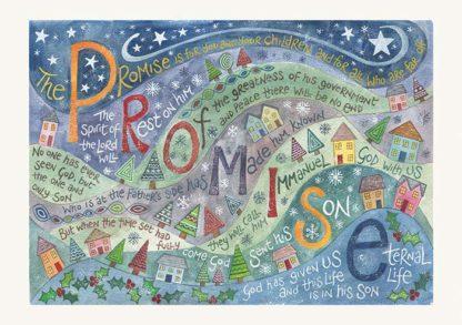 Hannah Dunnett Promise Christmas card