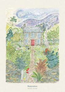 Hannah Dunnett Restoration greetings card