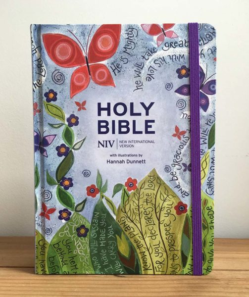 Hannah Dunnett Journalling Bible front cover