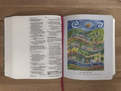 Hannah Dunnett New Journalling Bible He Cares For You image