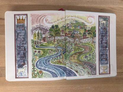 Hannah Dunnett New Journalling Bible back end page