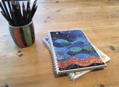 Hannah Dunnett Psalm 139 notebook closeup image