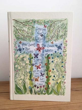Hannah Dunnett Amazing Grace Journal Front Cover image