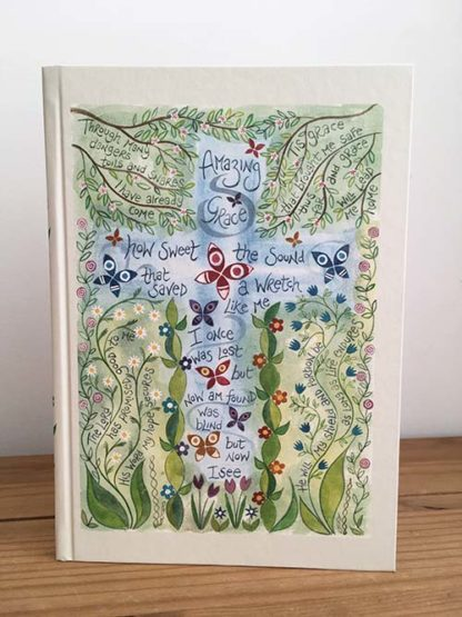 Hannah Dunnett Amazing Grace Journal Front Cover image
