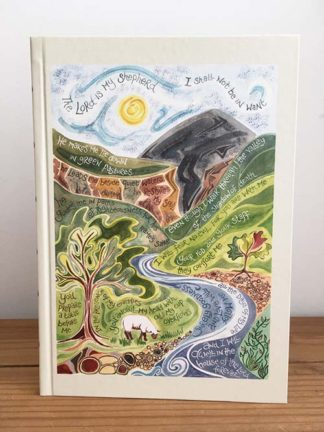 Hannah Dunnett Psalm 23 Journal Front Cover image