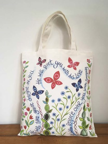 Hannah Dunnett Great Delight Canvas Bag front image