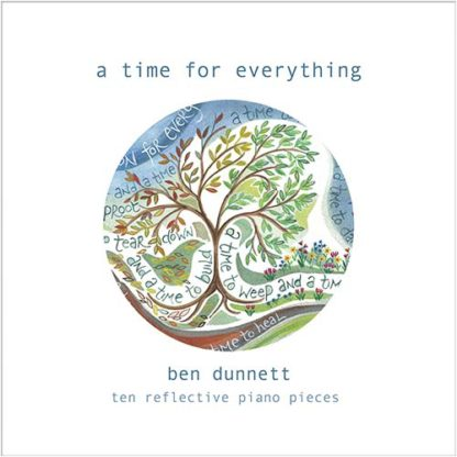 Ben Dunnett A Time For Everything CD cover