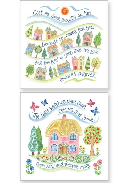 Hannah Dunnett Cast Your Cares and Now and Forever Notecards