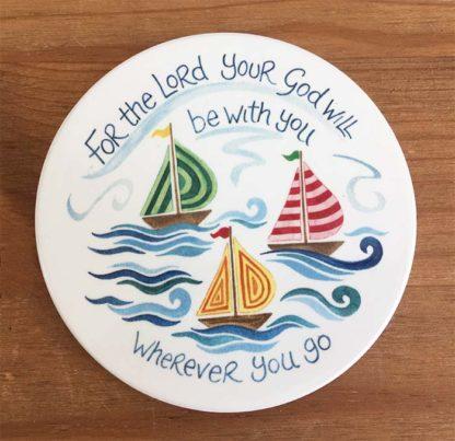 Hannah Dunnett Wherever You Go Coaster image