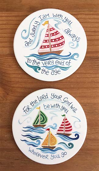 Hannah Dunnett With You Always and Wherever You Go Coaster image