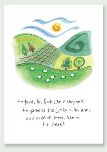 Hannah Dunnett Close To His Heart notecard and print