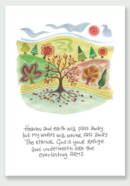 Hannah Dunnett Eternal God notecard and print