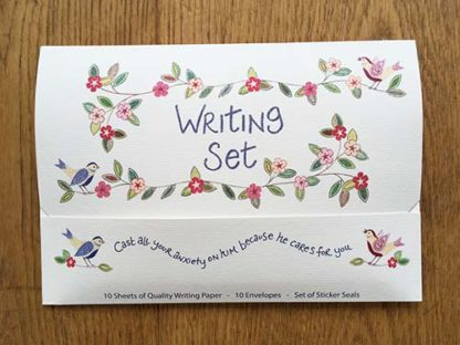 Hannah Dunnett He Cares For You Writing Set front cover