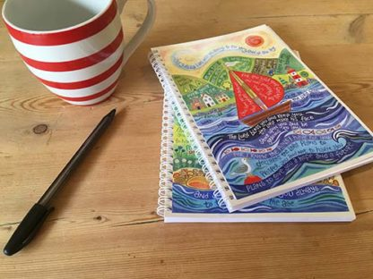 Hannah Dunnett Bless You and Keep You notebook closeup image