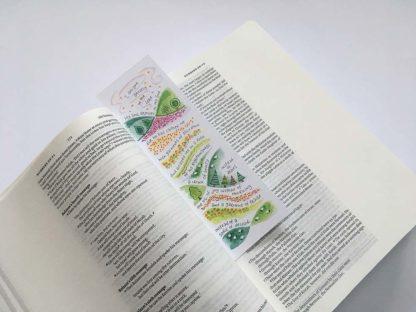 Hannah Dunnett Garment of Praise bookmark on book image