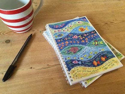 Hannah Dunnett He Will Guide You notebook closeup image