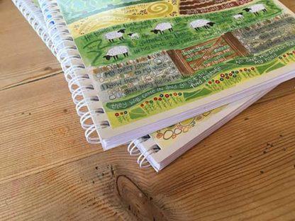 Hannah Dunnett The Good Shepherd notebook ultra closeup image