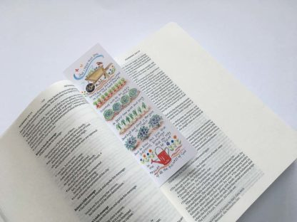 Hannah Dunnett The Love of Christ bookmark on book image