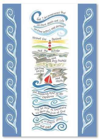 Hannah Dunnett Nothing Will Separate Us greetings card